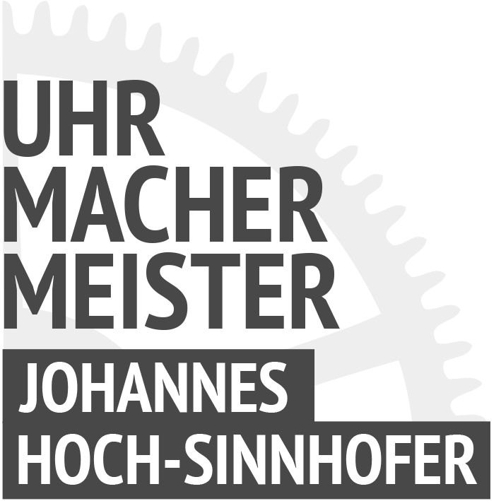 Uhrmachermeister JOHANNES HOCH-SINNHOFER